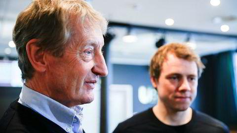 Birger Hungerholdt t.v. var tidligere manager for syklisten Edvald Boasson Hagen.
