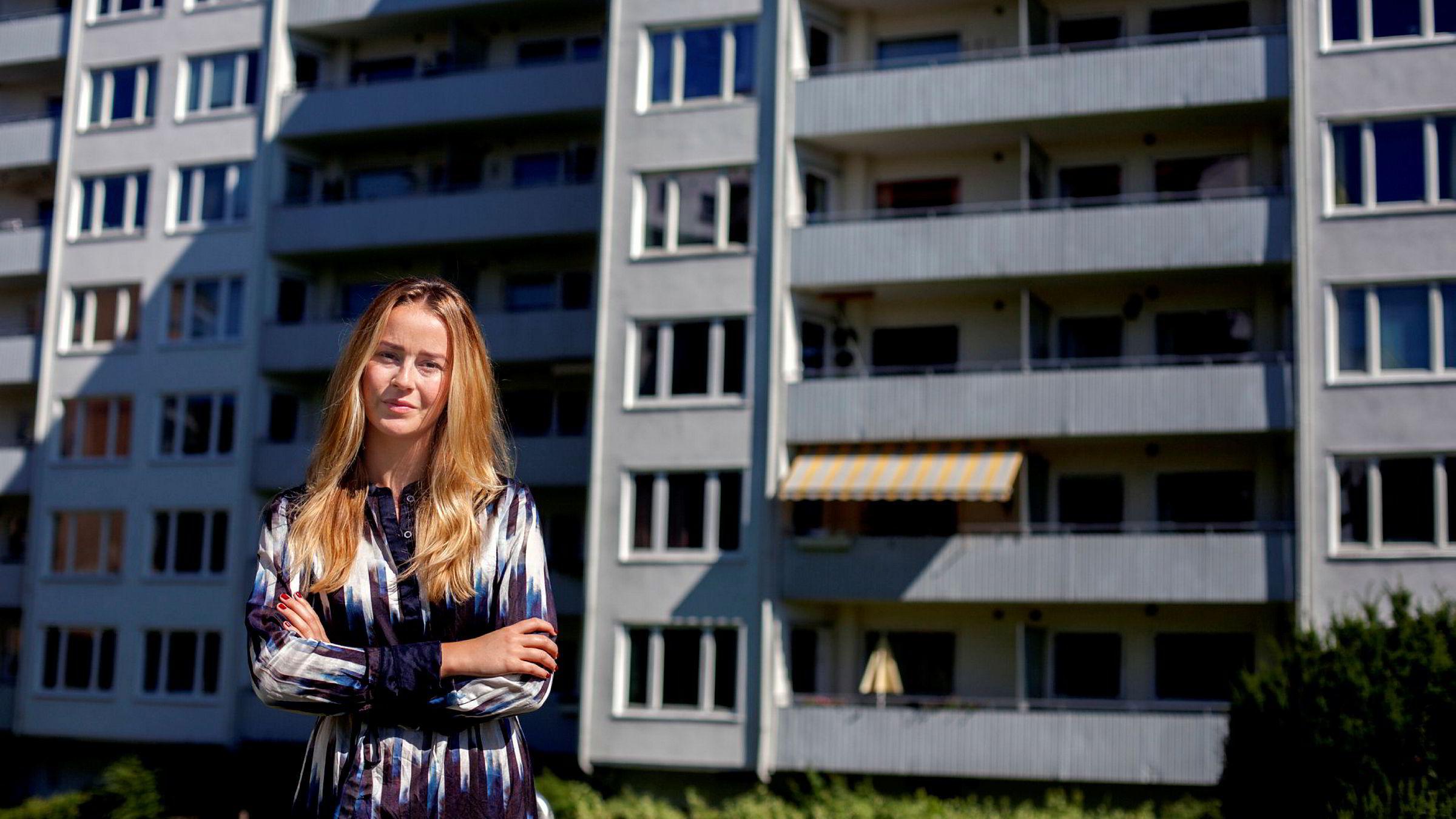 Makroøkonom Nejra Macic i Prognosesenteret tror boligprisene vil snu igjen.