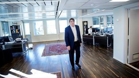 Jan Petter Sissener i fondet Sissener Sirius leverte høyere avkastning enn han hadde lovet kundene i fjor.