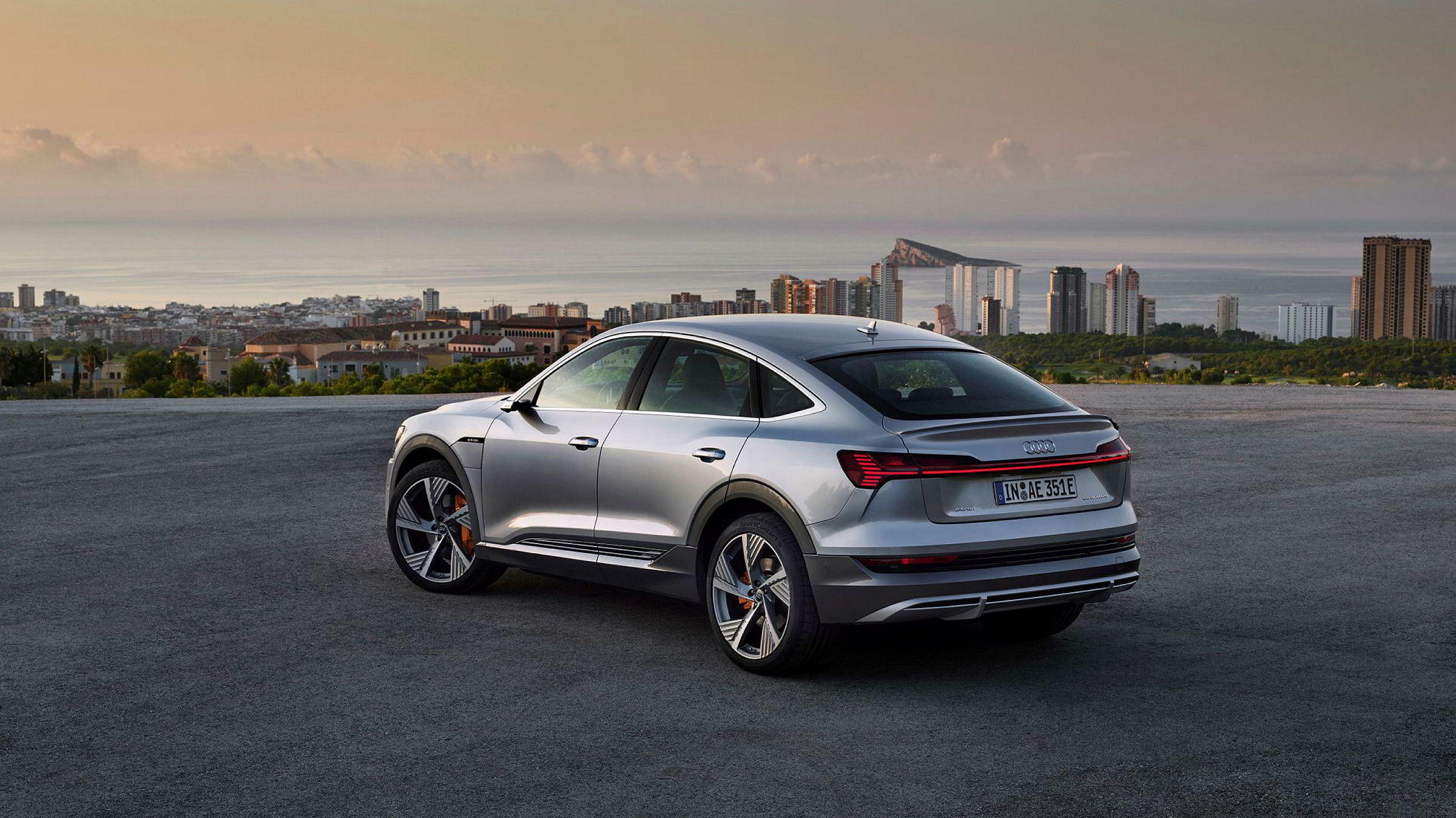 Audi E-tron er blitt en stor suksess på det norske markedet. Nå kommer bilen i en mer sporty Sportback-versjon.
