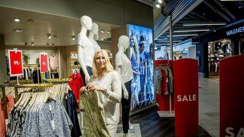 Irina Stubberud er butikksjef i Days like this, tidligere Vivikes, i Stovner senter.