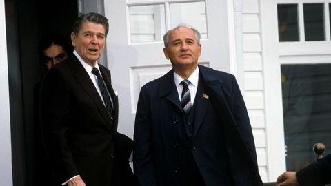 Verden har aldri vært så nær et gjennombrudd for atomnedrustning som i 1986, da Ronald Reagan og Mikhail Gorbatsjov møttes i Reykjavik.