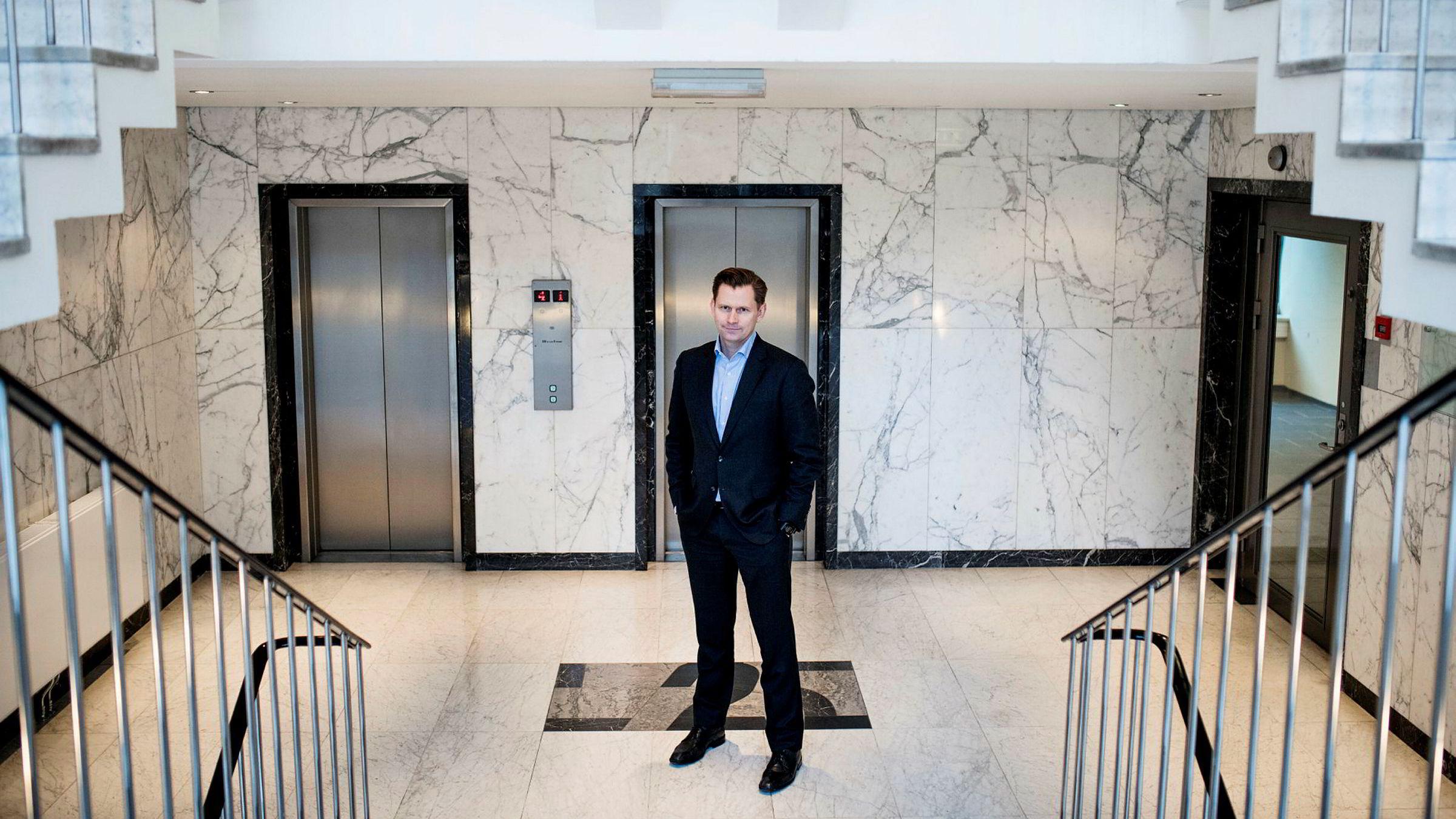 Haakon H. Jensen, administrerende direktør i Investinor, er strålende fornøyd med salget av aksjene i Alpinico.