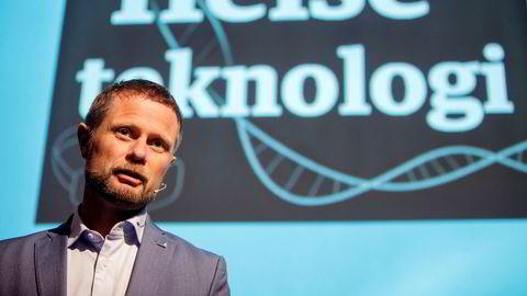 – Teknologi er helt avgjørende for å realisere et mer menneskelig helsevesen, sa helseminister Bent Høie (H) under DNs helseteknologikonferanse onsdag
