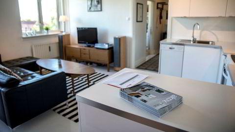 I Fagerheimgata på Torshov er det en leilighet til salgs. Megleren har satt den opp i pris fra 3 millioner til 3,3 basert på stor interesse i forkant, og er svært spent på hva leiligheten vil gå for.