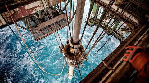 Arkivbilde. Oljeboring i Barentshavet.
