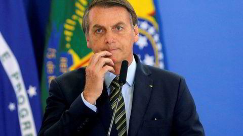 EU vurderer å legge Mercosur-avtalen med Brasil på is grunnet president Jair Bolsonaros manglende innsats for Amazonas-regnskogen.
