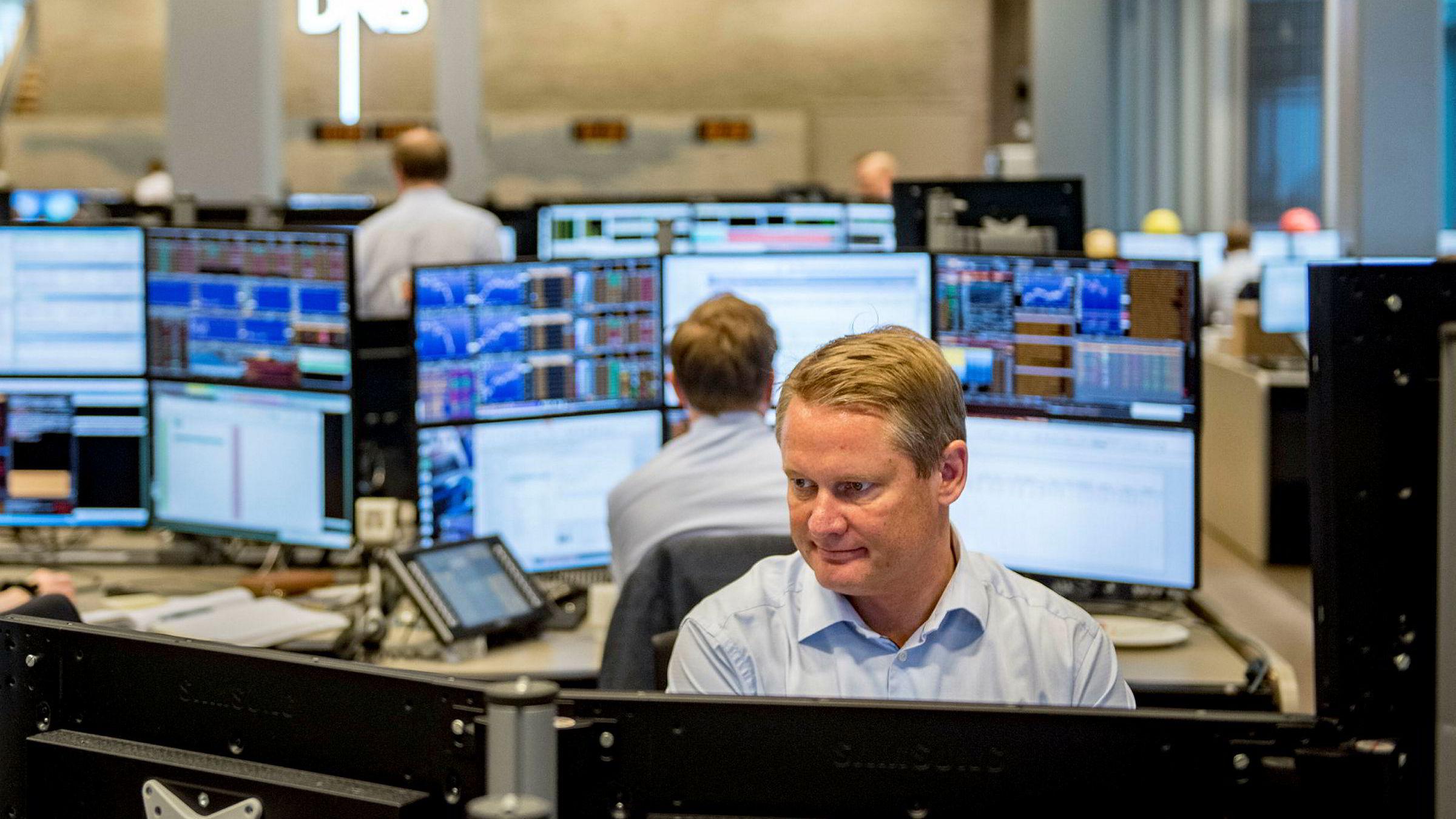 Meglersjef i DNB Markets, Thomas Breivik, mener Trump-effekten i aksjemarkedene er over. Foto: Fartein Rudjord