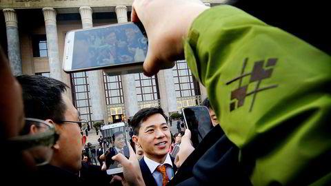 På syv år har Lei Jun bygd opp et av verdens største privateide selskaper. Xiaomi fordoblet salget av smarttelefoner i tredje kvartal. Lei har partiboken i orden og deltok på årets Folkekongress i Beijing tidligere i år.