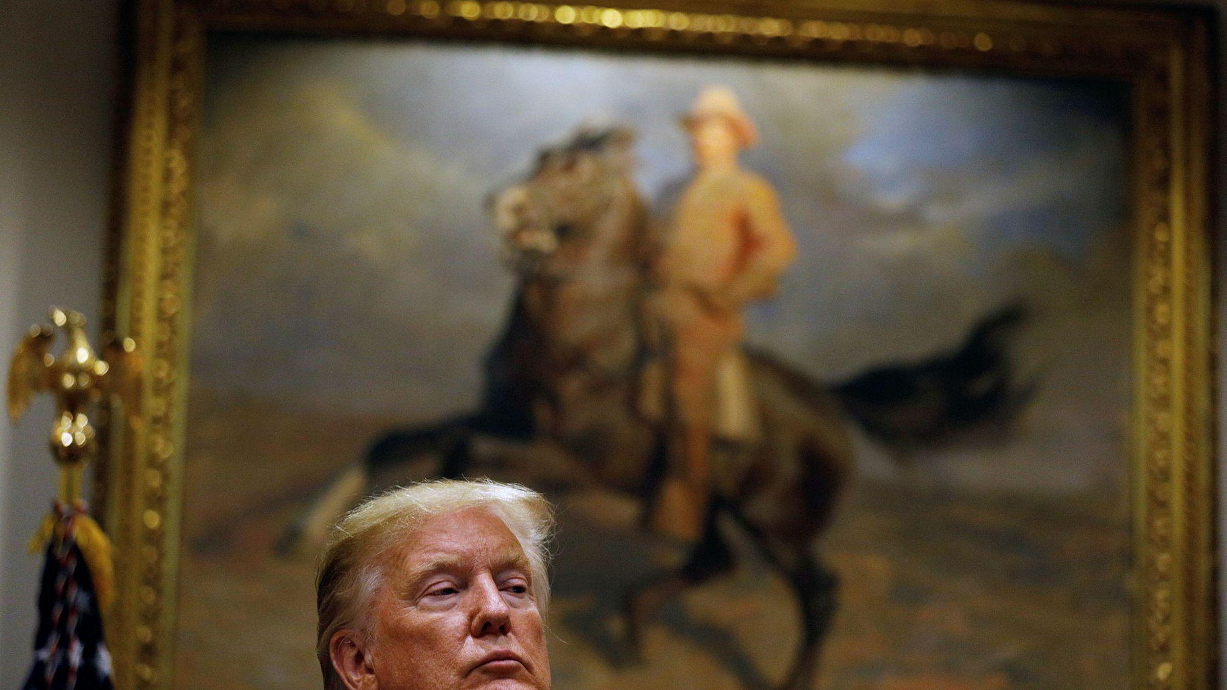 Manglende handelsenighet med Kina nå kan skyldes at Donald Trump vil spare en mulig enighet til neste høst.