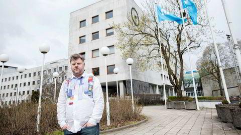 Klubbleder Richard Aune i NRKJ forventer at nedbemanningene i kanalen løses med frivillige virkemidler.