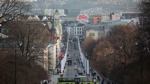 Oslo er ikke lenger så dyr som tidligere for utenlandske forretningsreisende.