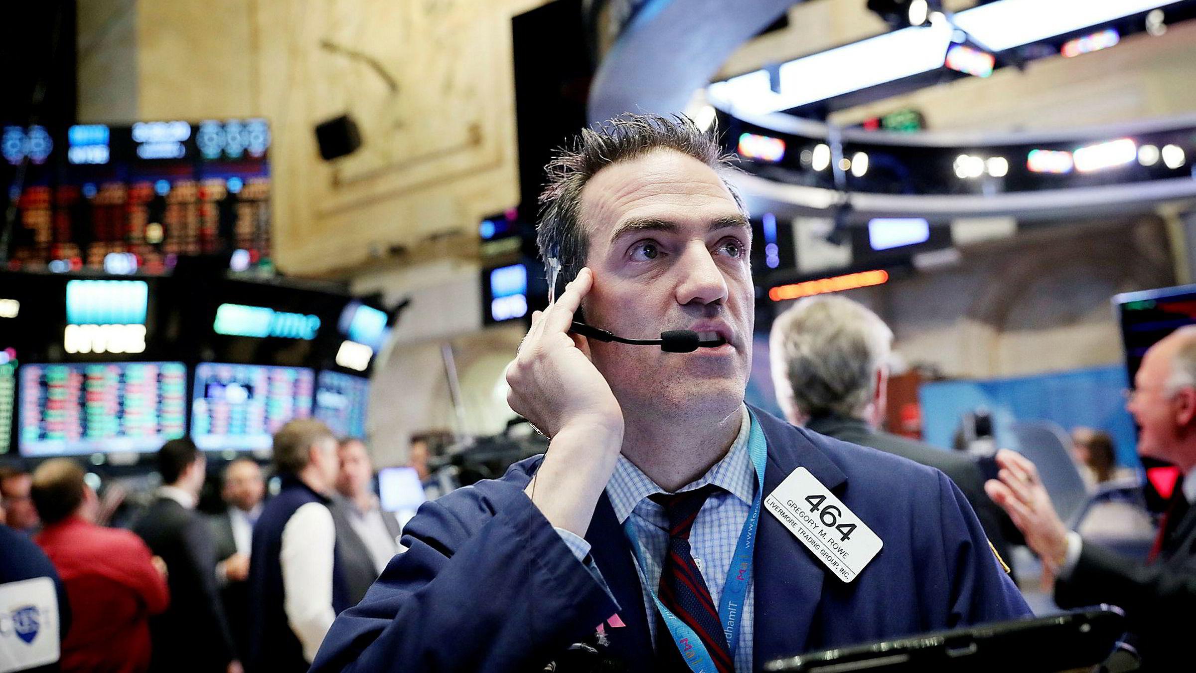 Norske fond har lagt bak seg et godt år, viser ny statistikk. Opptur på verdens børser, som her på Wall Street, lokket mange kunder til å kjøpe aksjefond.