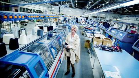 Hilde Midthjell har snudd underskudd til pene overskudd for tekstilbedriften Dale of Norway. Nå selger hun til franske Rossignol.