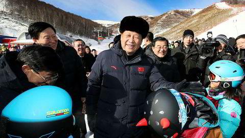 Kinas president Xi Jinping, som denne uken inspiserte anleggsarbeid i forkant av OL i Zhangjiakou i 2022, sier at kinesiske myndigheter vil bestemme hva slags innhold som skal gjøres tilgjengelig for nettbrukere.