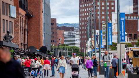 Byene vokser, distriktene opplever fraflytting. Illustrasjonsfoto.