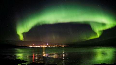 Kanskje årets fagsamling kan bli nordlyskonferanse, skriver Iselin Nybø i innlegget. Her: Berlevåg i oktober 2016.