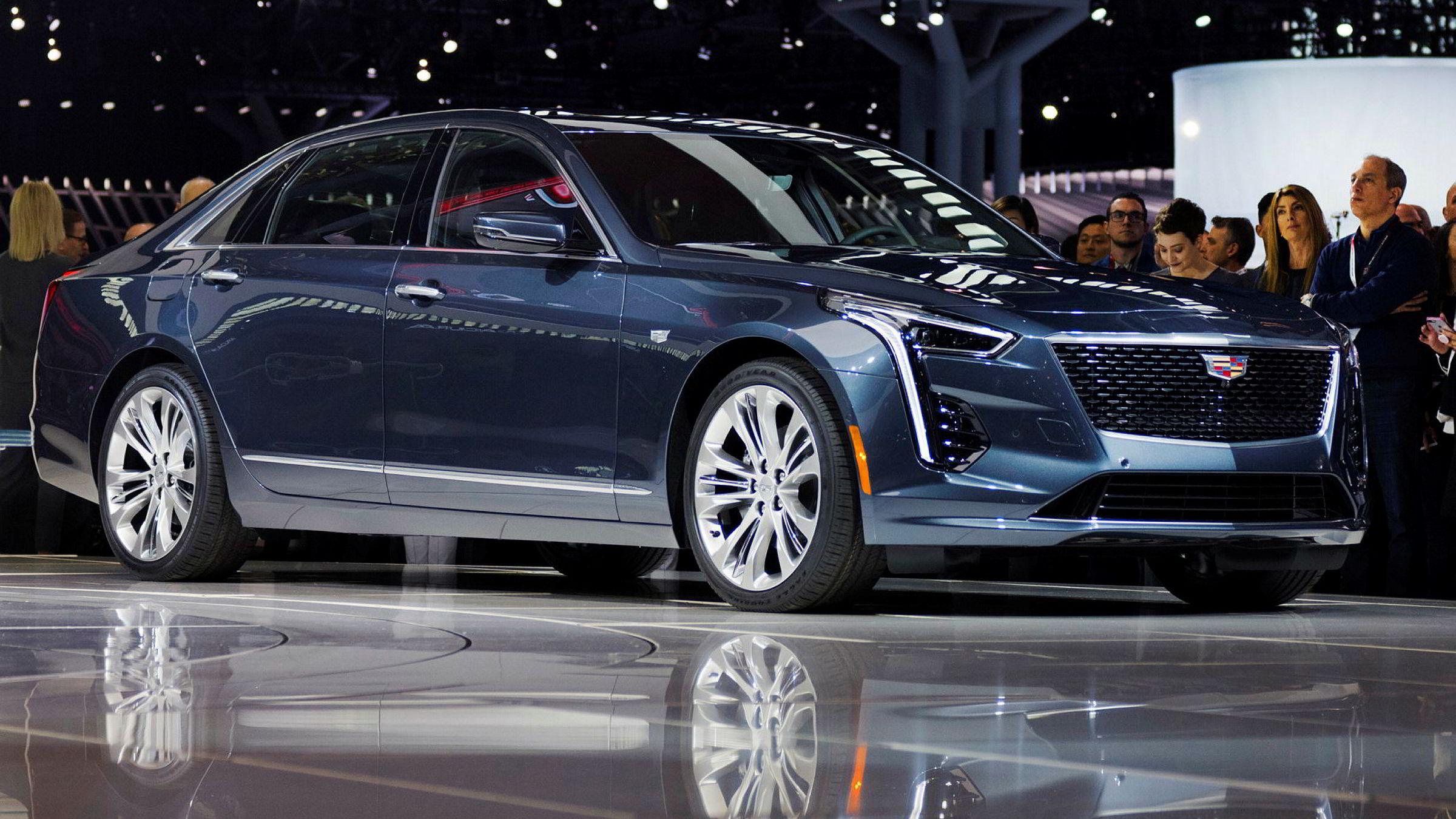 Cadillac CT6 V-Sport er med sine 550 hestekrefter ikke noe godt eksempel på en bensingjerrig bil.