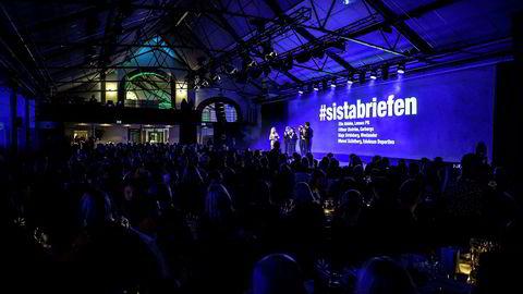 154 byråer og 600 gjester var til stede under kåringen Årets byrå i Stockholm.
