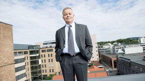 Konsernsjef Arne Giske i Veidekke har skaffet seg en historisk høy ordrebeholdning i selskapet.