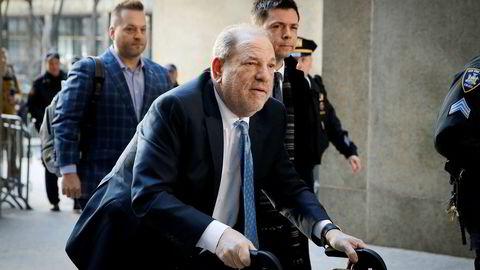 Den tidligere filmmogulen Harvey Weinstein.