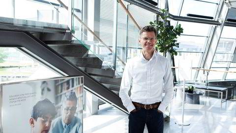 – Vi skal være ferdig med 5G-utbyggingen i 2024, sier administrerende direktør Petter-Børre Furberg i Telenor Norge.