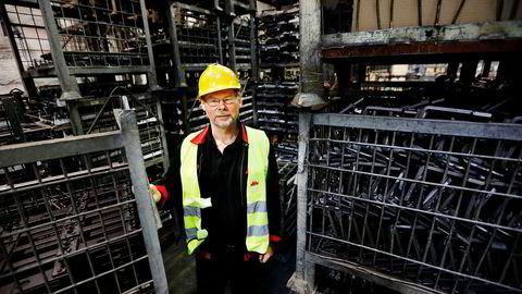 – Ratos har vært tålmodig med å få selskapet lønnsomt, sier klubbleder Arild Johannessen i Jøtul.