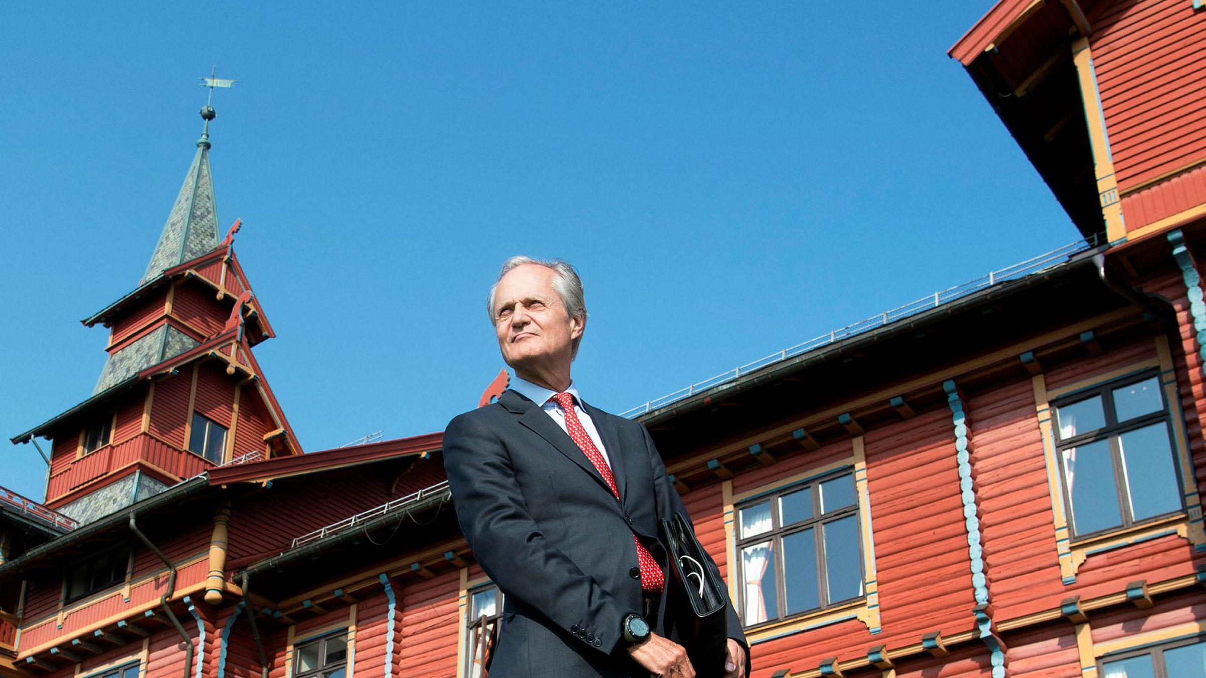 Hovedaksjonær og styreleder Kristian Siem i Subsea 7.