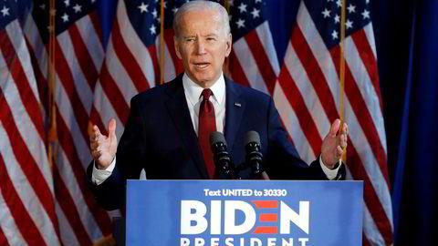 Tidligere visepresident Joe Biden er mest populær blant svarte demokrater.