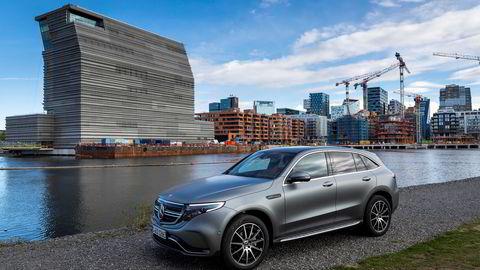 Registreringene av den nye Mercedes-Benz EQC tok av i juli. Selv om Audi E-tron gjorde det enda bedre.