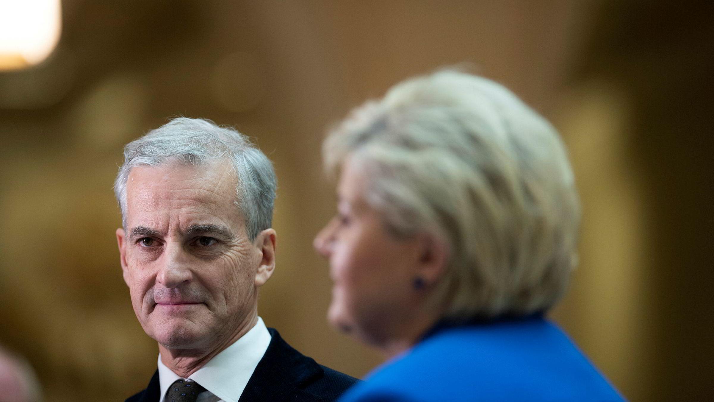 Ap-leder Jonas Gahr Støre sår tvil om hva partiet vil med Oljefondet. Det er ingen god idé.