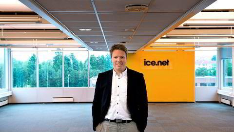 - Det er veldig mange mobilkunder som ikke bruker opp datapakkene de kjøper, sier Eivind Helgaker, administrerende direktør Ice.
