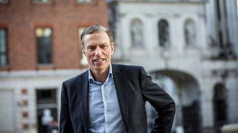 Konsernsjef Rolv Erik Ryssdal i Adevinta med sin største fjær i hatten etter at han sluttet i Schibsted.