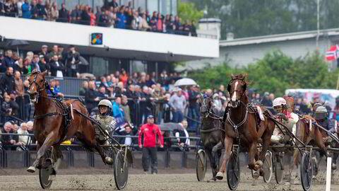 Frp mener kombinasjonen kasino og hestespill er en god idé. Her fra Bjerkebanen i Oslo.