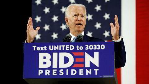 Joe Biden vil melde USA inn i WHO igjen dersom han blir valgt til president.