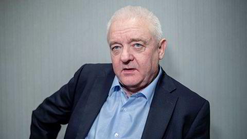 Frode Berg fotografert etter pressekonferanse på Radisson Park Inn Hotel Gardermoen.