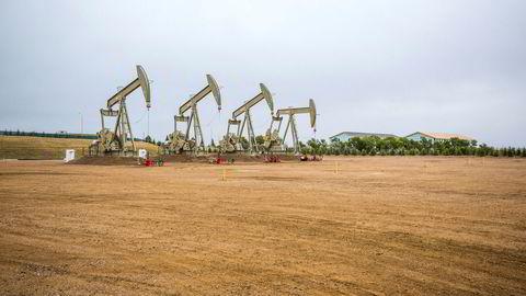 Selskapene innen skiferolje og -gass har samlet nedskrevet verdiene med om lag 300 milliarder dollar de siste årene. Det gjør ikke Equinors nedskrivninger på ni milliarder dollar bedre, men setter tallene i sammenheng, skriver Helge Lund i innlegget. Bildet er fra selskapets virksomhet i Williston i Nord-Dakota i 2013.