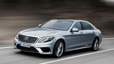 Mercedes-Benz S 63 AMG er en av toppmodellene fra det tyske premiummerket med sine 585 hestekrefter.