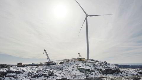 En stor del av vindkraftutbyggingene i Norge foregår i urørte fjellområder med grunt jorddekke. Her medfører sprengning og utfylling av svaberg at tilbakeføring til opprinnelig tilstand ikke er mulig, skriver Håvard Halland.