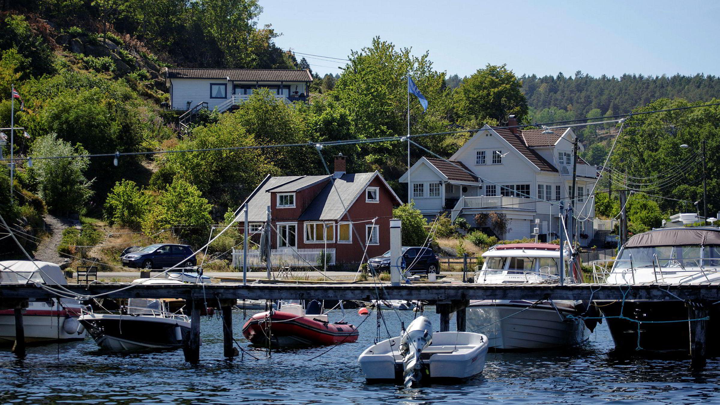 Færder kommune huser noen av landets dyreste hytter.
