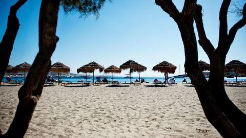 Charterturistene dropper Tyrkia og skaper stort press på Vings reiser til Spania og Hellas. Her fra øya Paros i Kykladene i Hellas.