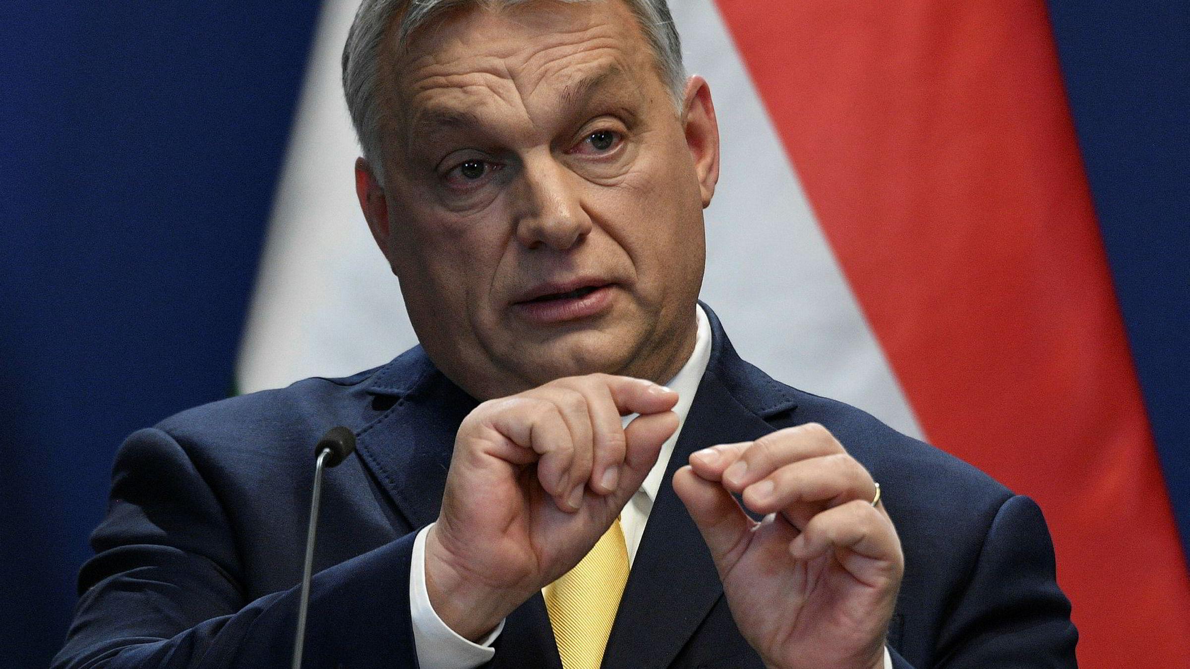 Statsminister Viktor Orbáns retorikk kan være direkte og hard, men gir ham også oppmerksomhet.