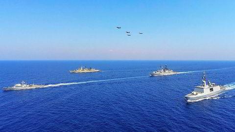 Forholdet mellom Hellas og Tyrkia har den siste tiden blitt mer og mer anspent. Hellas gjennomførte sammen med Frankrike, Italia og Kypros en militærøvelse øst i Middelhavet fra 26. til 28. august.