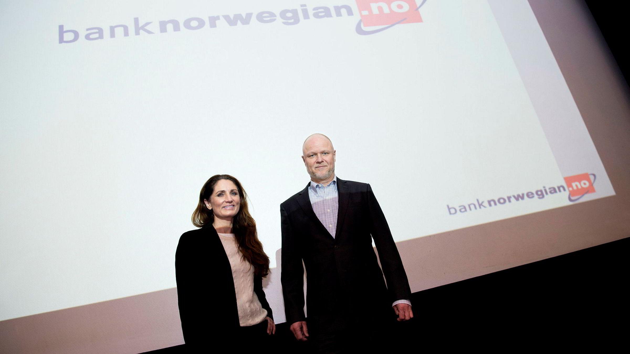 Pål Svenkerud er konstituert administrerende direktør i Bank Norwegian. Tine Wollebekk skal overta sjefsjobben, men vet ikke helt når.