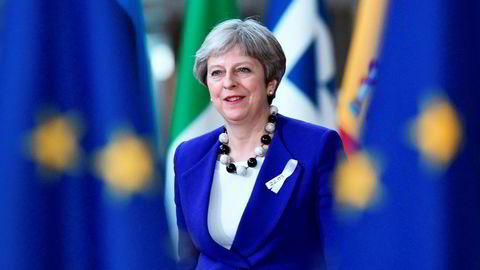Storbritannias statsminister, Theresa May.