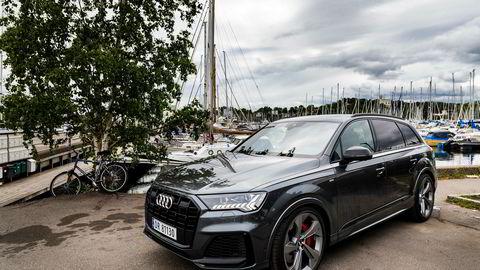 Ifølge Bilnytts beregninger er Audi Q7 i ladbar versjon den bilen som får den høyeste avgiftsøkningen.