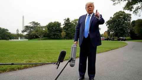 USAs president Donald Trump kastet torsdag ny tvil over om valgresultatet i november er til stole på.