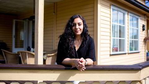 – Jeg synes det er gøy å spare, sier Haleh Ashraf (36), som i dag sparer i åtte ulike fond.