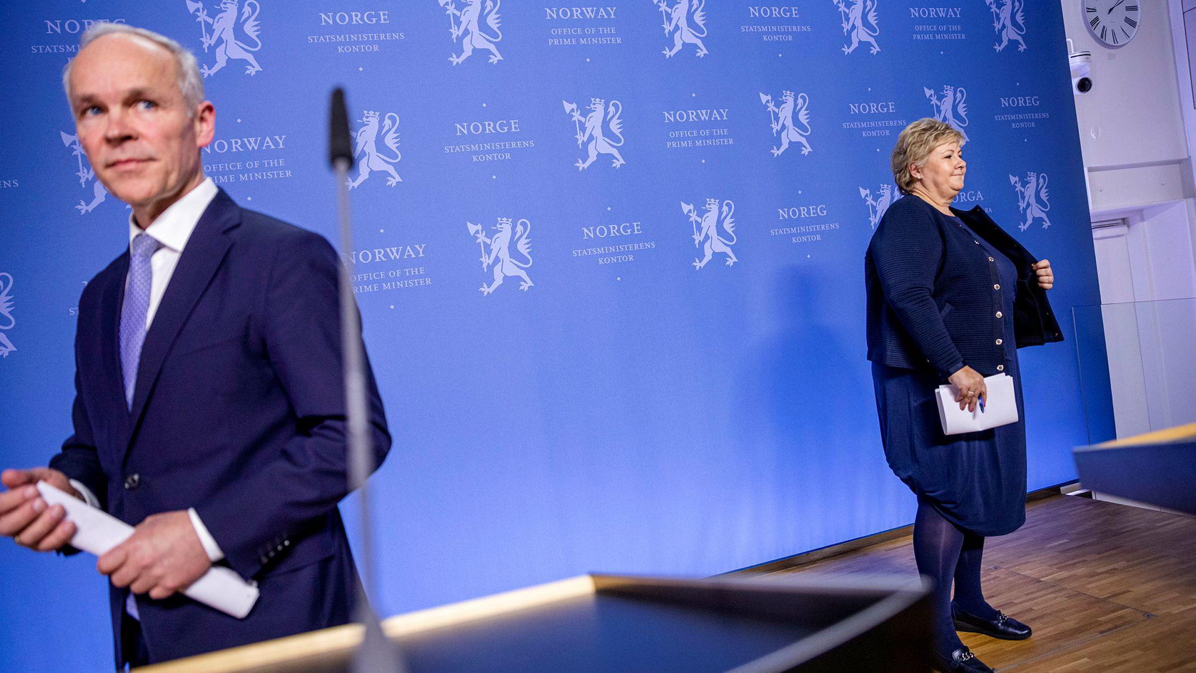 Finansminister Jan Tore Sanner (H) kommer fredag med nye tiltak for næringer, bedrifter og gründere som sliter med å håndtere konsekvensene av de strenge tiltakene Norge har satt i verk for å begrense smittespredning.