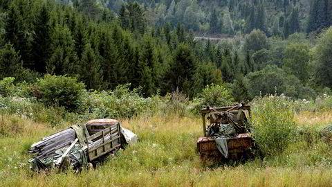Den nye vrakpanten skal på plass før sommeren. Foto: VIDAR RUUD / NTB scanpix. Illustrasjonsfoto.